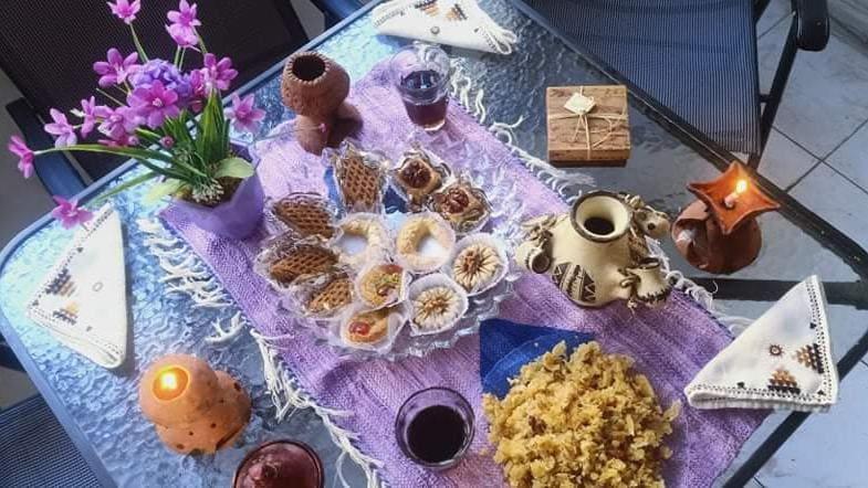 Un mawlid nabawi karim avec les produits Res'art